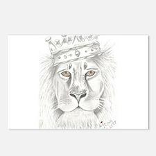 Lion of Judah Postcards (Package of 8)