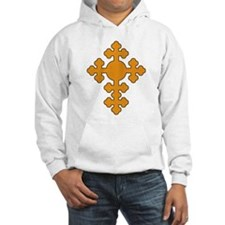 Romanian Cross Hoodie Sweatshirt