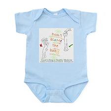 Infant Bodysuit Reminds Good Lifting
