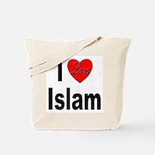 I Love Islam Tote Bag