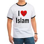 I Love Islam (Front) Ringer T