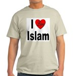 I Love Islam Ash Grey T-Shirt