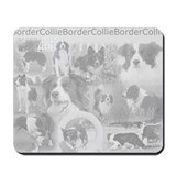 Border collie Mouse Pads