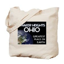 shaker heights ohio - greatest place on earth Tote