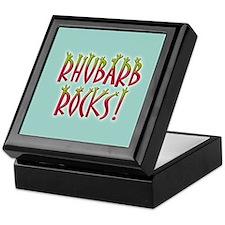 Rhubarb Rocks Keepsake Box