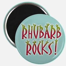 Rhubarb Rocks Magnet