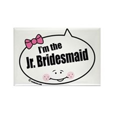 Jr. Bridesmaid Rectangle Magnet