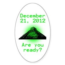 Mayan Oval Decal