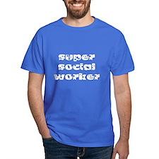 super social worker (white) T-Shirt