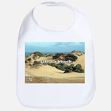 Life's a beach, sand dunes, Australia Baby Bib
