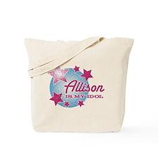 Halftone Idol Allison Tote Bag