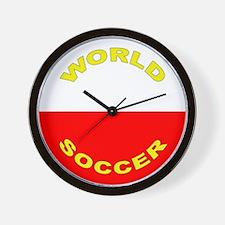 Poland World Cup 2006 Soccer Wall Clock