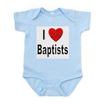 I Love Baptists Infant Creeper