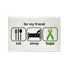 Friend ESHope Lymphoma Rectangle Magnet