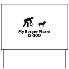 Berger Picard Yard Sign