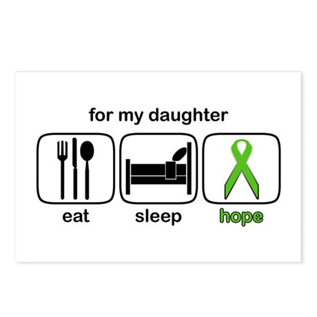 Daughter ESHope Lymphoma Postcards (Package of 8)