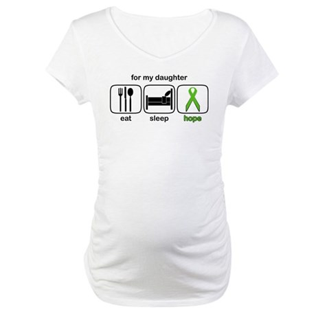 Daughter ESHope Lymphoma Maternity T-Shirt