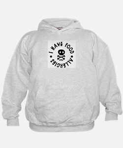 Kids I have food allergies Hoodie