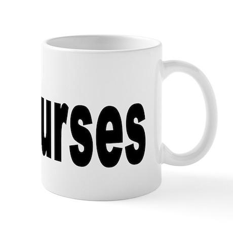 I Love Nurses Mug