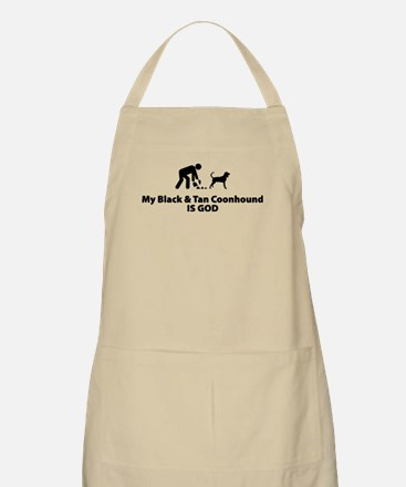 Black & Tan Coonhound BBQ Apron
