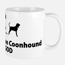 Black & Tan Coonhound Mug