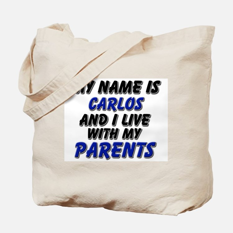 my name is carlos and I live with my parents Tote