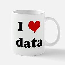 I Love data Mug