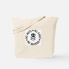 No Seafood, No Nuts, No Dairy 2 sided Tote Bag