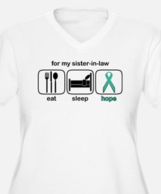 Sister-in-law ESHope Ovarian T-Shirt