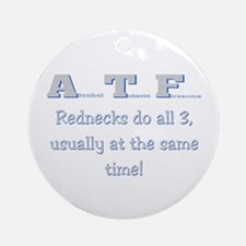 ATF Ornament (Round)