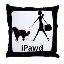 Central Asian Shepherd Throw Pillow