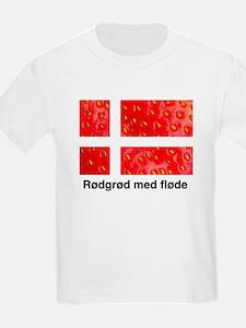 Rodgrod med flode T-Shirt