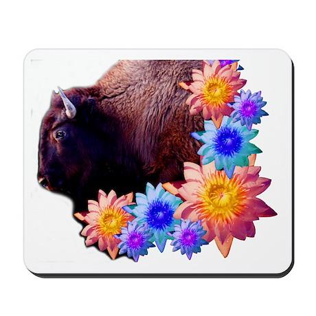 Bison Love Mousepad