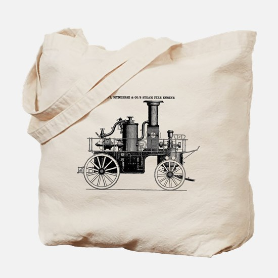 Silsby Fire Engine Tote Bag
