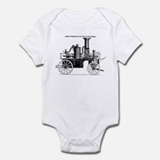 Silsby Fire Engine Infant Bodysuit