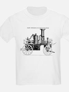 Silsby Fire Engine T-Shirt