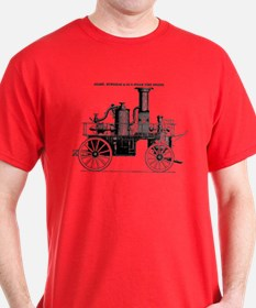 Silsby Fire Engine T-Shirt