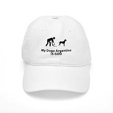 Dogo Argentino Baseball Cap