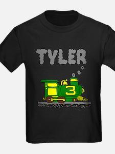 Tyler 3-Green & Yellow Train T