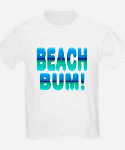 Beach Bum! Kids T-Shirt