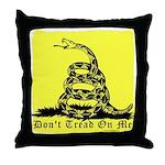 Don't Tread On Me Gadsden Throw Pillow
