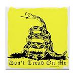 Don't Tread On Me Gadsden Tile Coaster