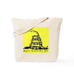 Don't Tread On Me Gadsden Tote Bag