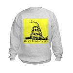 Don't Tread On Me Gadsden Kids Sweatshirt