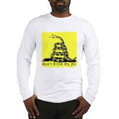 Don't Tread On Me Gadsden Long Sleeve T-Shirt