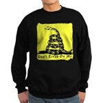 Don't Tread On Me Gadsden Sweatshirt (dark)