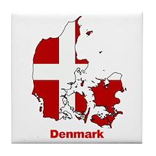 Denmark Tile Coaster