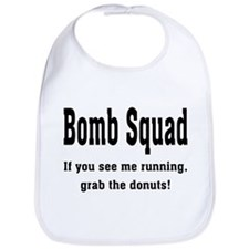 Grab the donuts Bib