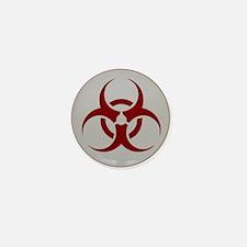 biohazard outbreak logo Mini Button (10 pack)