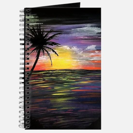 Sunset Sea Journal